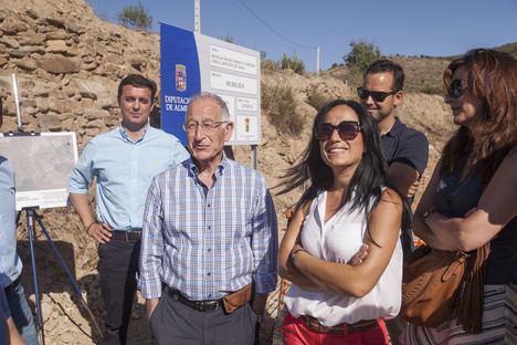 Diputación invierte 324.000 euros en acortar distancias entre Laroya y Tahal