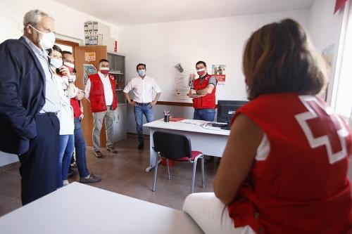 Diputación y Cruz Roja Almería impulsarán el empleo entre colectivos vulnerables