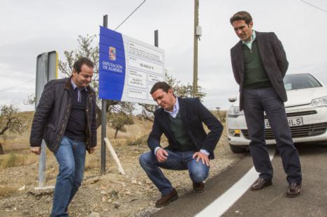 Diputación aprueba 620.000 euros para carreteras del Levante y Almanzora