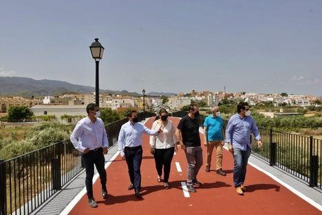 Diputación recupera el 'Puente Viejo' de Turre con una ruta peatonal