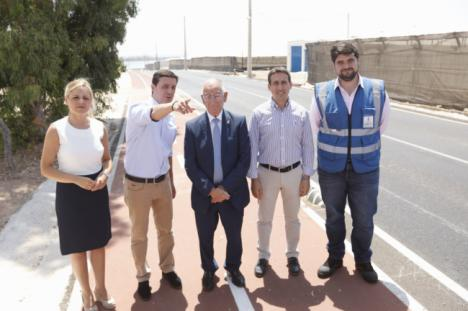 Ayuntamiento de Roquetas y Diputación conectan cuatro de sus barrios