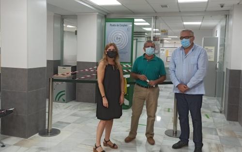 Empleo mejora las instalaciones de la Oficina SAE de Almería-Periferia