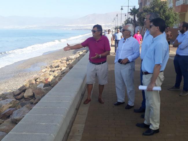 Las obras de emergencia en la playa de Balerma aprobadas en febrero siguen sin ejecutarse