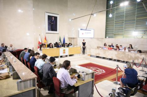 Los concejales de Almería se