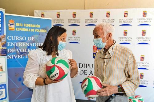 Almería será cuna de entrenadores de voley