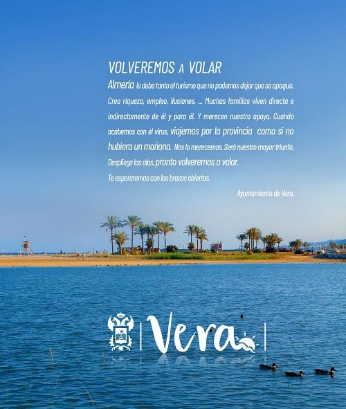 Ayuntamiento de Vera apoya al sector turístico ante la crisis del Coronavirus
