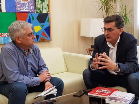 """Sánchez Teruel: """"Estamos en el mejor momento del PSOE"""""""