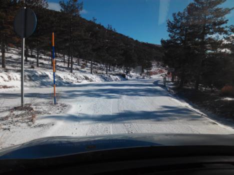 Intenso trabajo de la Diputación en las carreteras de la provincia