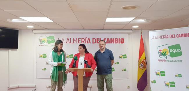 """IU-Equo propone una """"Almería del cambio"""" en las municipales"""