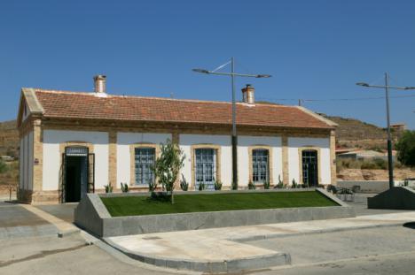 El Ayuntamiento de Cantoria recupera la estación de Almanzora