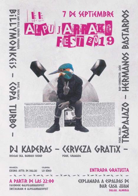 El Ayuntamiento de Dalías presenta la segunda edición del Alpujarrako Fest