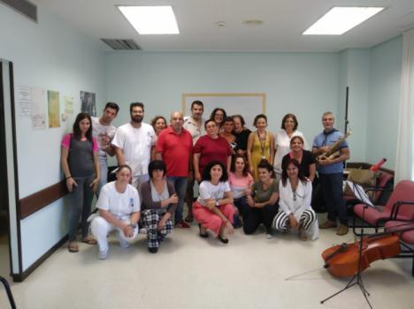 La música en el Día Mundial de la Salud Mental en el Hospital de Poniente
