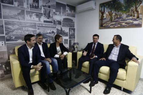 Javier A. García visita La Mojonera