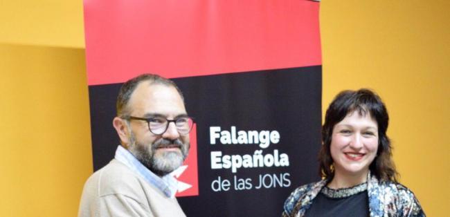 Luz Belinda mete a Falange en el Parlamento Andaluz
