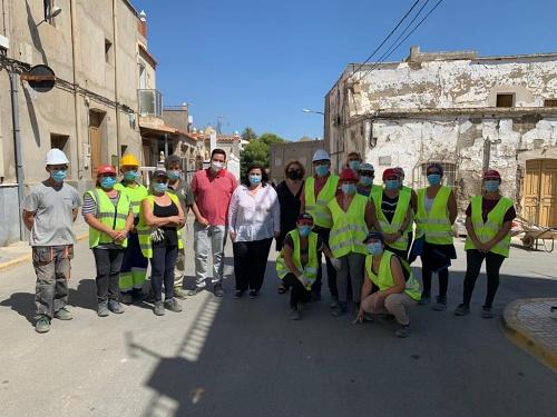 El PFEA invierte 465.000 € en obras en Tabernas