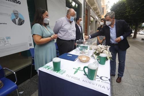 Diputación se suma a la campaña de cuestación de AECC