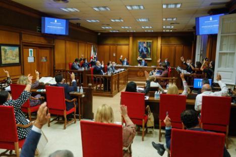 Ratificación unánime del convenio colectivo para los trabajadores de Diputación