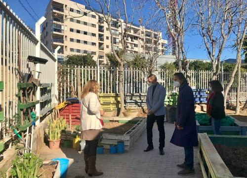 El delegado de Educación visita el CEEE Princesa Sofía