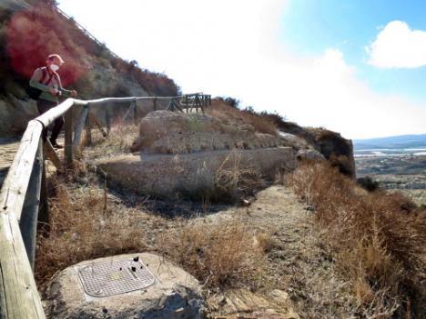 Trabajos previos para la excavación arqueológica en el Cerro del Espíritu Santo
