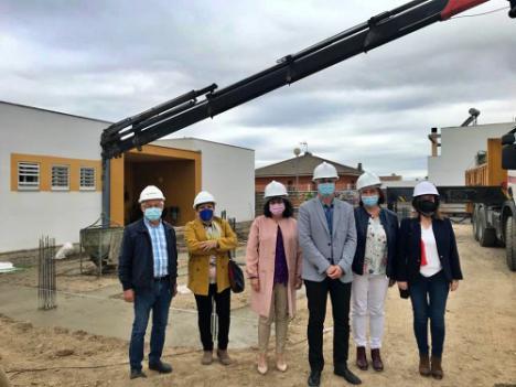 Educación invierte 100.000 euros en amplia del Colegio Público Rural Estancias de Huércal Overa