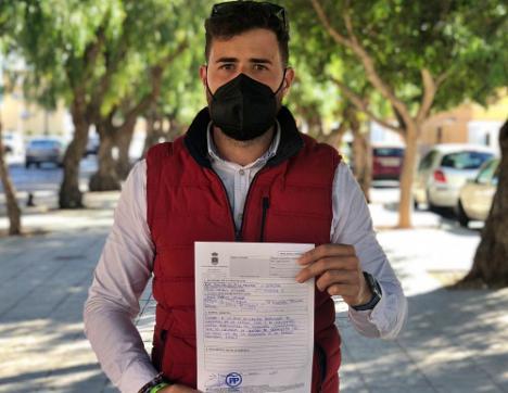El PP pide al alcalde de La Mojonera la convocatoria urgente de la comisión Covid-19