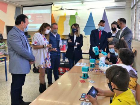 Cerca de 1.500 alumnos de Primaria en un programa de competencias digitales en Almería
