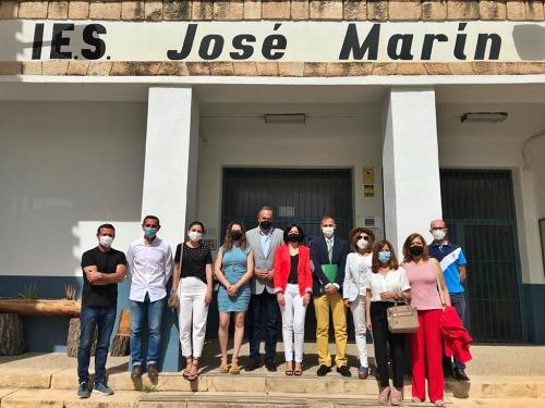 El IES José Marín de Vélez Rubio contará con un nuevo ciclo de Atención a Personas en Dependencia