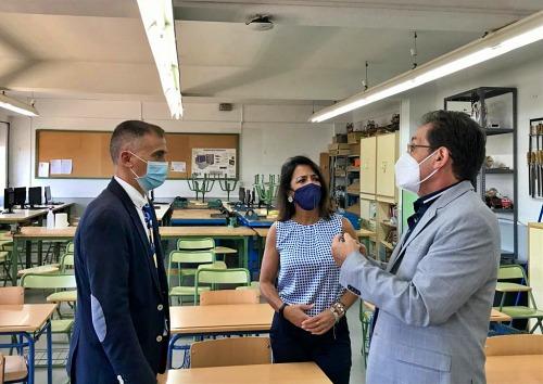 Educación invertirá más de 11 millones en bioclimatización de colegios de Almería