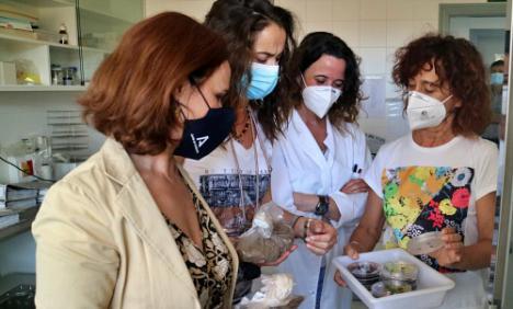 Un Laboratorio de Sanidad Vegetal analiza el estado de La Peana de Serón