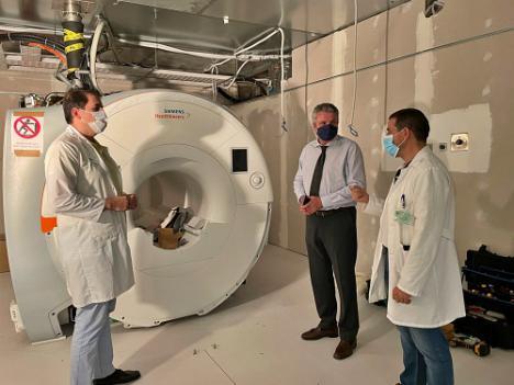 La Junta invierte más de 1,3 millón de euros en una resonancias magnética para La Inmaculada