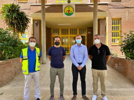 Educación inicia obras de mejora en cinco colegios de Almería