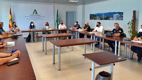 Reunión de coordinación sobre el Parque Natural Cabo de Gata-Níjar