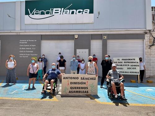 Los trabajadores de Verdiblanca pidien la dimisión de la junta directiva