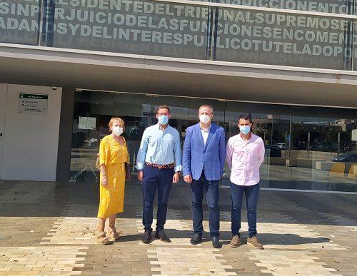 Justicia mantiene el refuerzo de los juzgados de Guardia de Almería y El Ejido