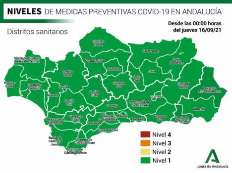 Almería suma tres fallecidos y 66 contagios por covid-19