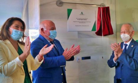 El consejero Aguirre inaugura la Unidad de Gestión Clínica de Urgencias de Roquetas de Mar