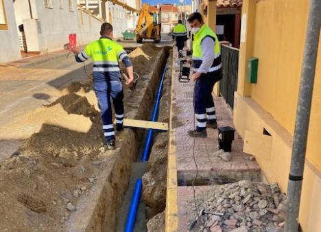 CODEUR renueva la red abastecimiento de la calle Pintor Rafael Zabaleta
