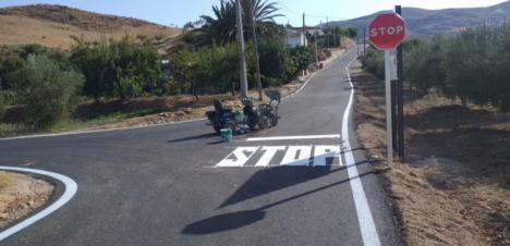 Diputación invierte 150.000 euros en caminos de Lubrín y Zurgena