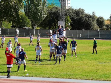 URA pierde en su primera salida de la temporada en Alcobenda