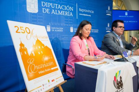 Vélez-Rubio y Diputación conmemoran el 250 Aniversario de la Iglesia de la Encarnación