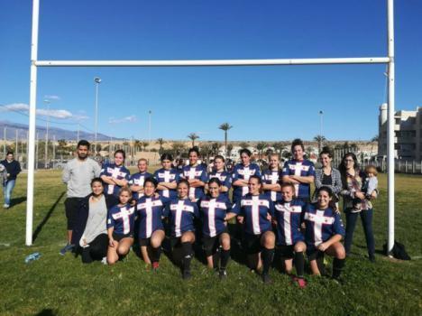 Las chicas del rugby femenino buscan apoyos
