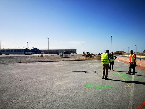 Obras en el Puerto de Almería para acoger más de 200 camiones