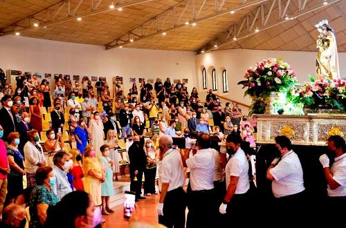 Aguadulce rinde homenaje a la Virgen del Carmen