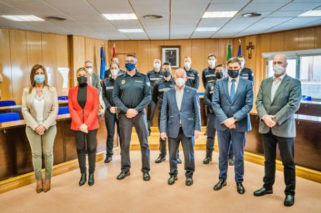 El Ayuntamiento de Roquetas de Mar incorpora ocho policías locales