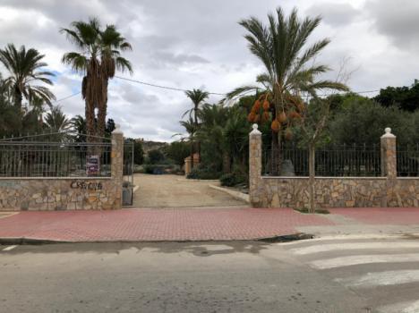 La renovación del Parque Luis Siret en Cuevas recibe 400.000 € en inversiones de la Diputación