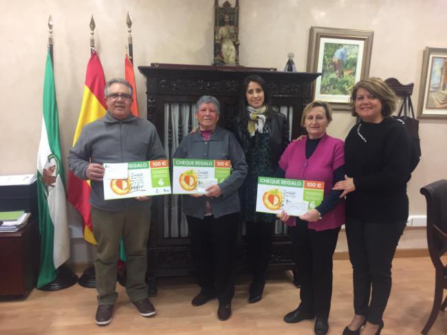 Diputación y Gádor finalizan la primera acción para el fomento del comercio local