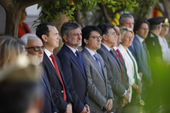Escobar acudió a XXIV Aniversario de la Subdelegación de Defensa en Almería
