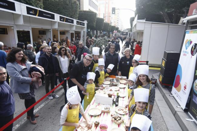 Actividades para la familia en la Feria 'Sabores Almería'