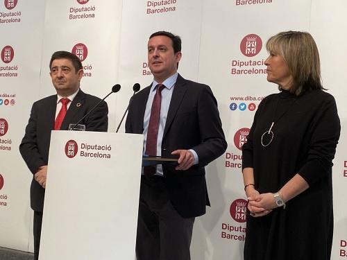 Javier A. García defiende en la Diputación de Barcelona el papel de estas instituciones