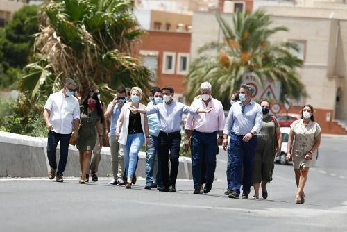 Diputación desdobla el puente que une Viator y Huércal de Almería